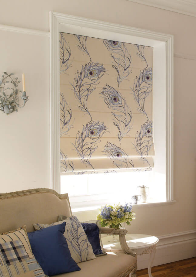 Roman Blinds Made To Measure Surrey Blindsfitted4u